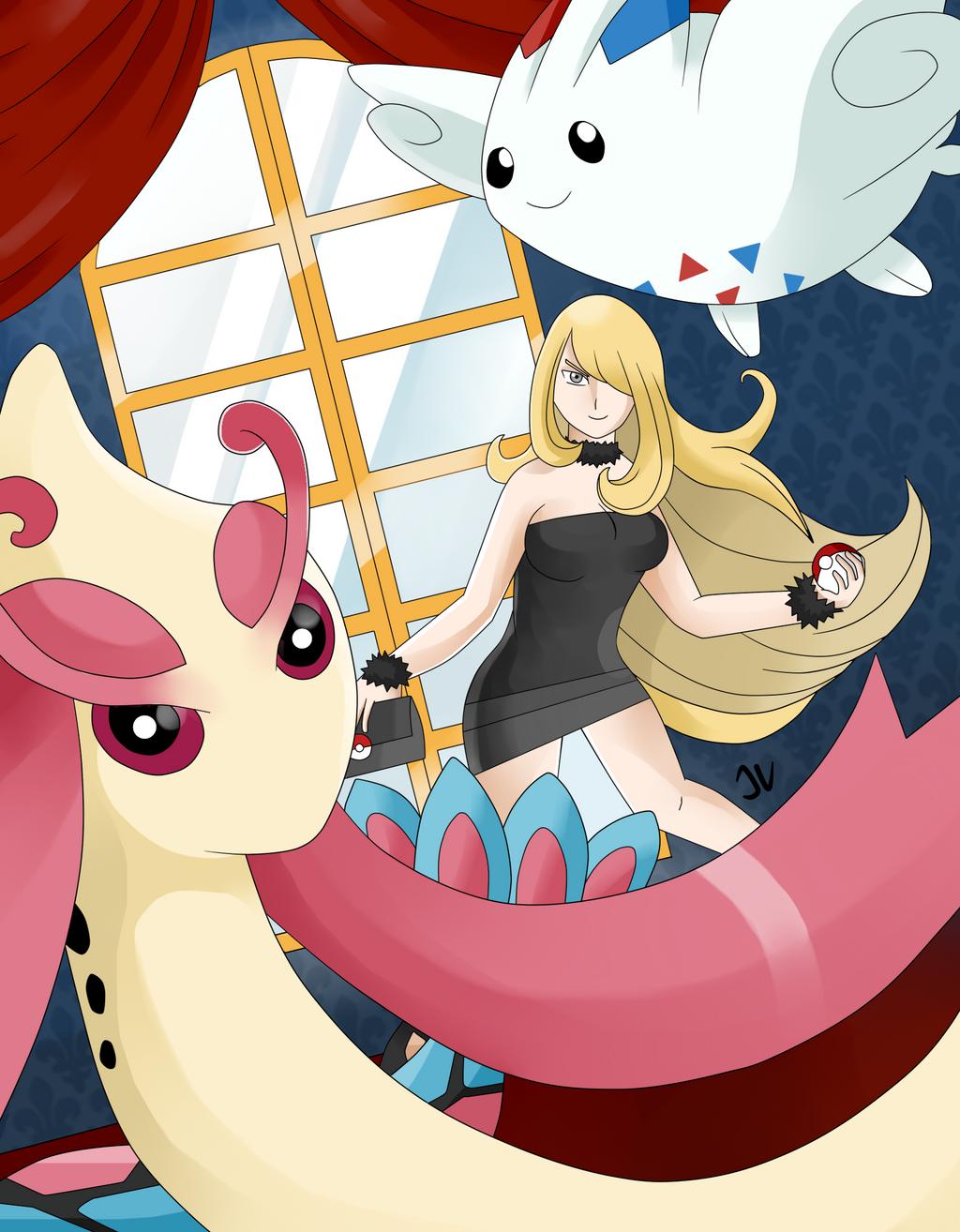 Cynthia Pokemon Ice Cream Images | Pokemon Images
