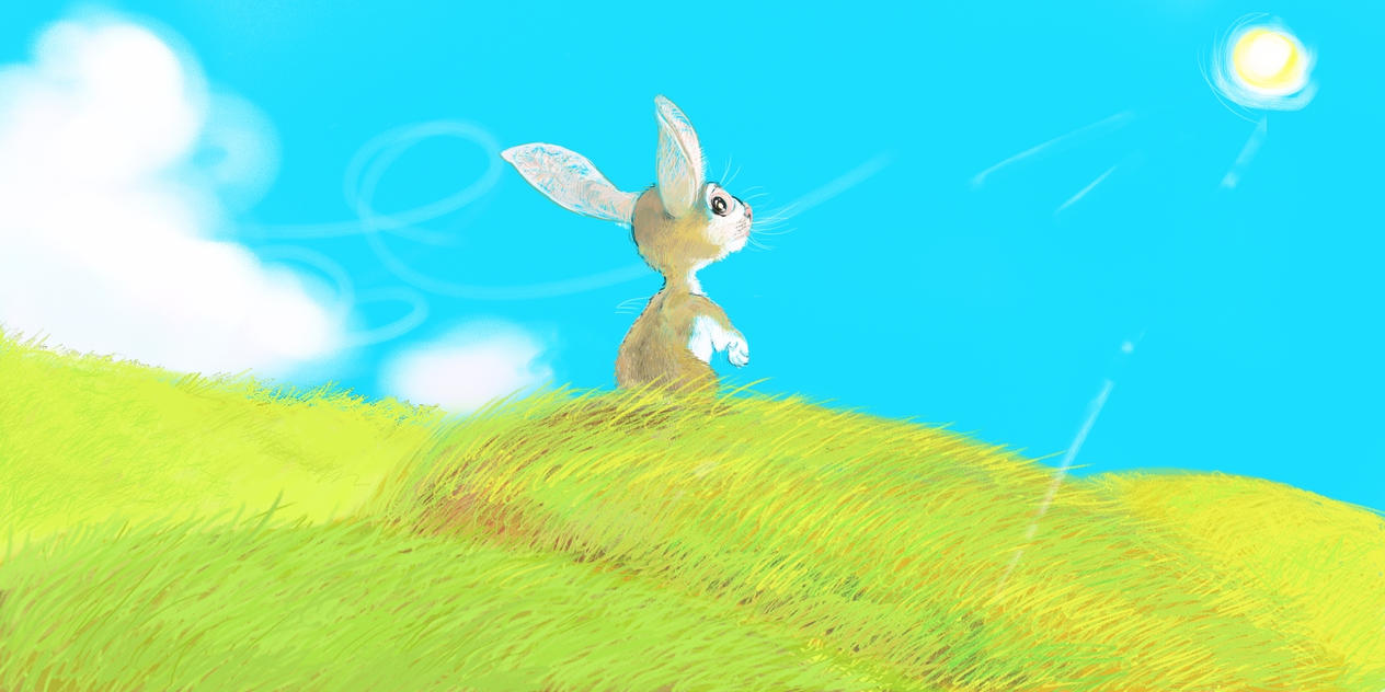 rabbit by kidgeonpat