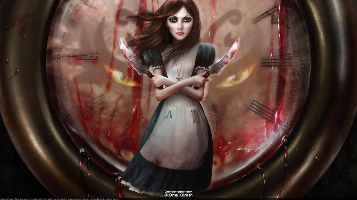 Alice + Clock by OmriKoresh