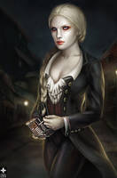 Gabrielle de Lioncourt by OmriKoresh