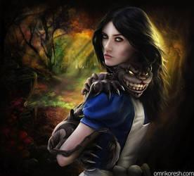 Alice + Cheshire by OmriKoresh
