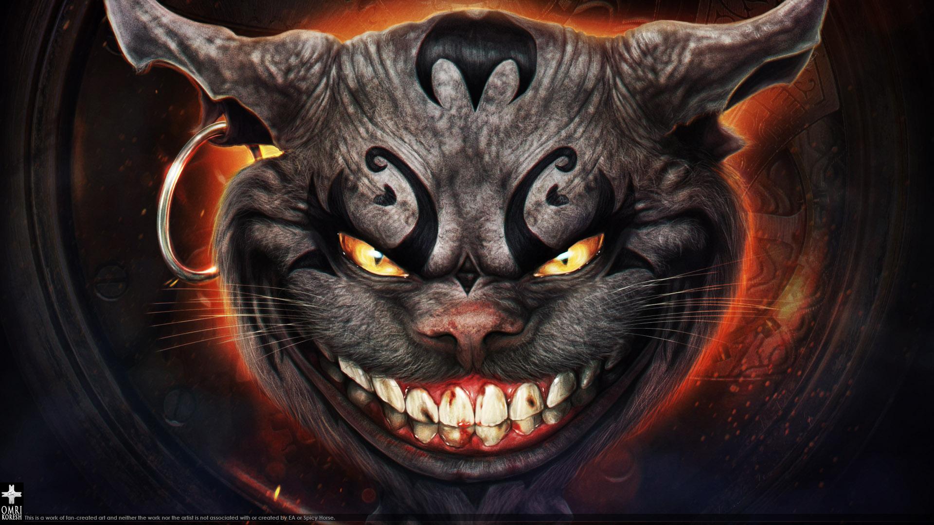 Dark Cheshire by OmriKoresh