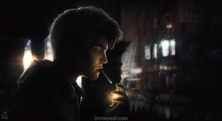 Let the Rain Wash by OmriKoresh