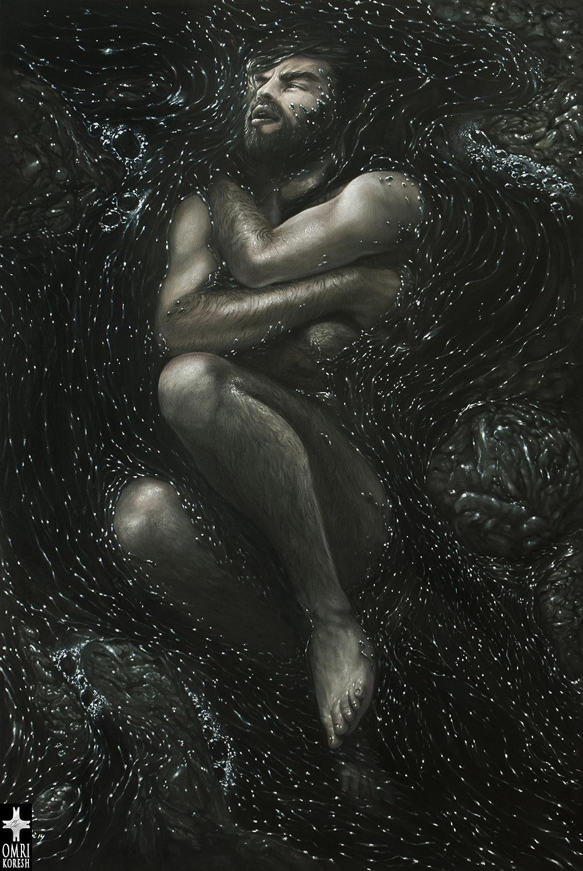 Jonah's Torment by OmriKoresh