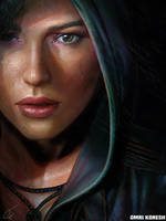Rise of the Tomb Raider Portrait
