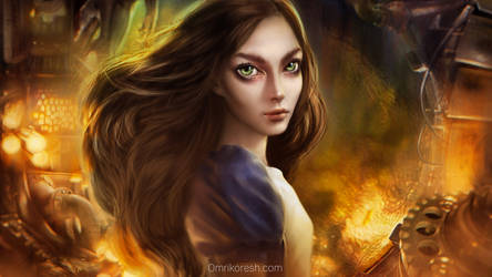 Alice, 2014 Revamp by OmriKoresh