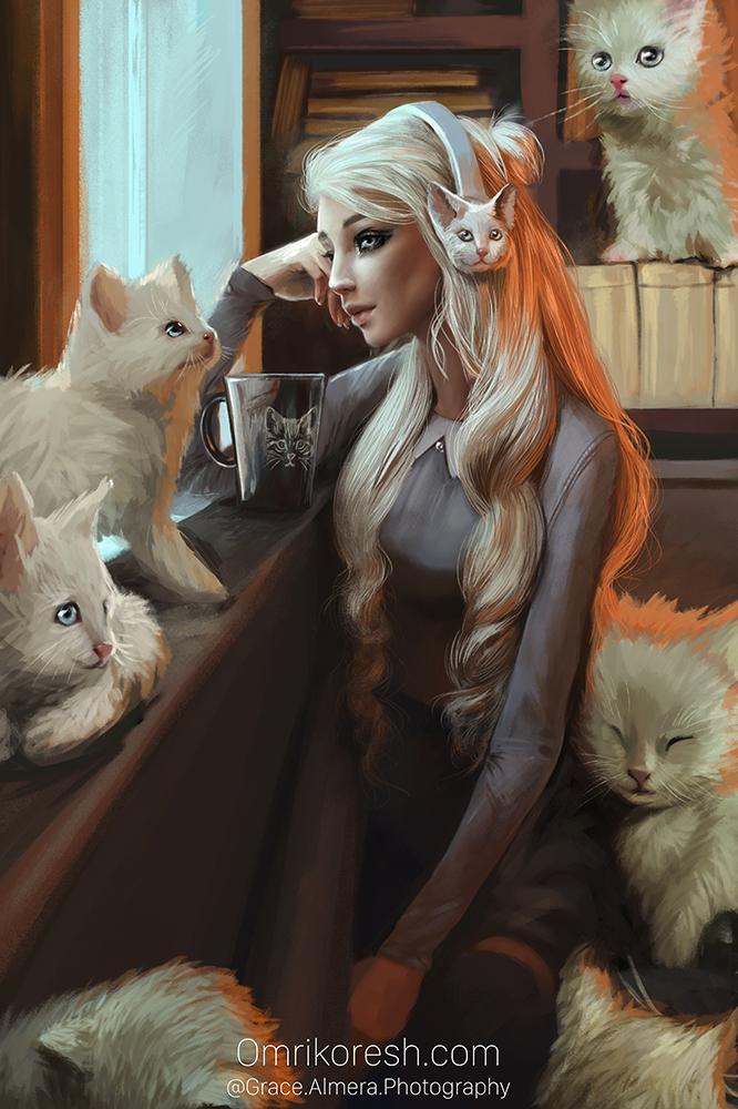 Grace Almera by OmriKoresh