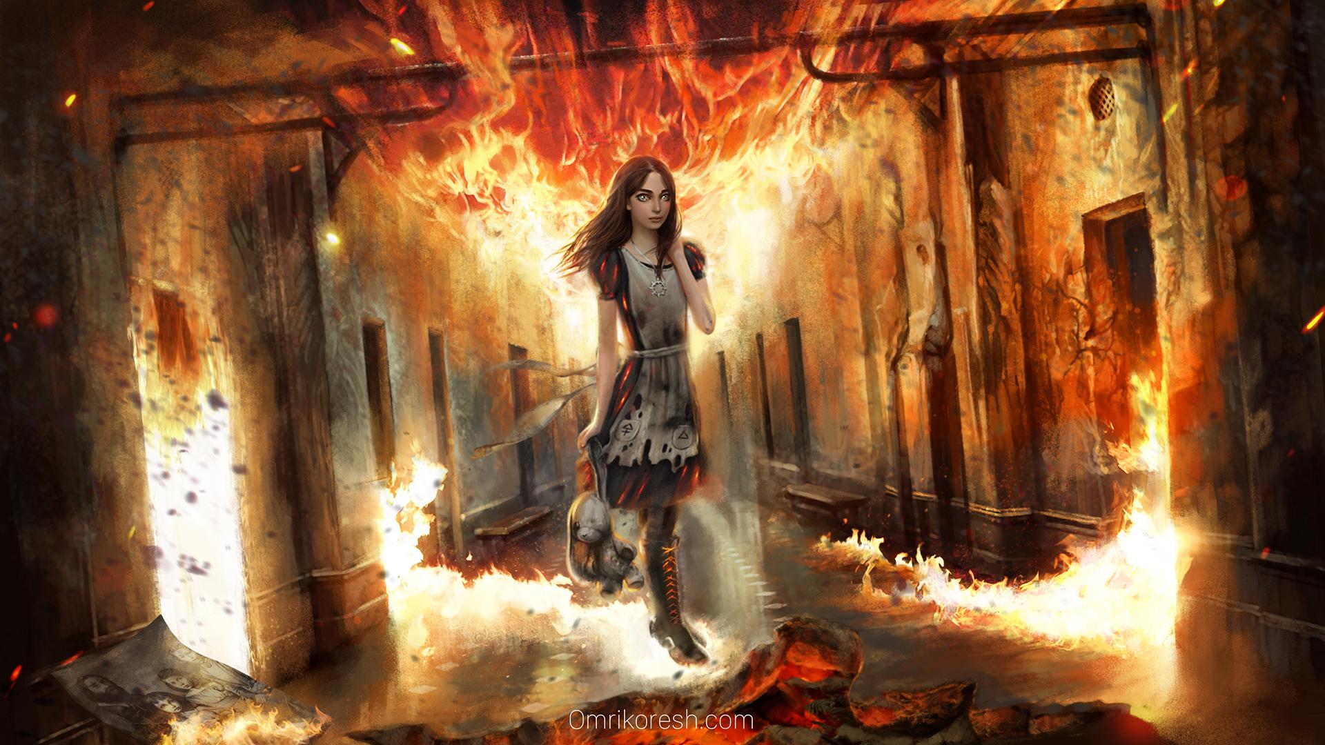Alice Ash, Alice: Asylum Pre Production by OmriKoresh