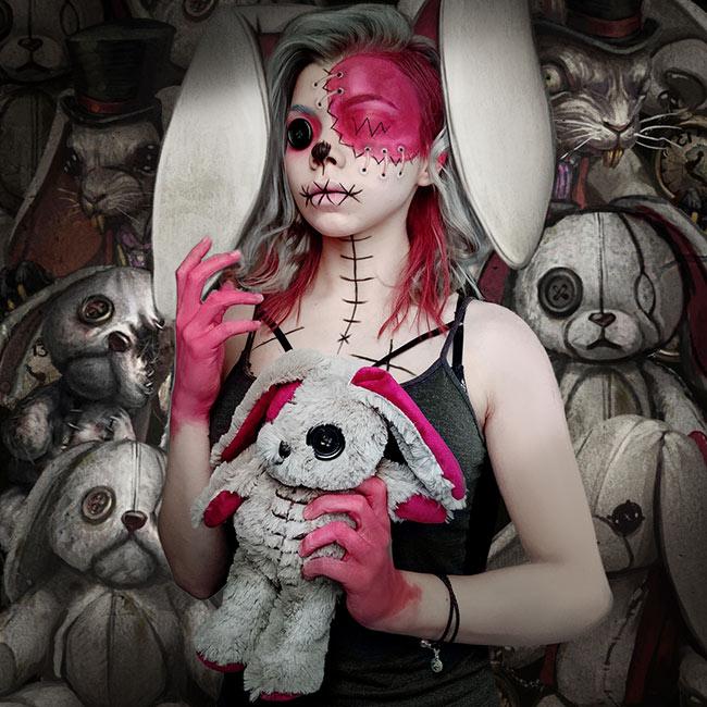 Alice Asylum: Rabbit girl by OmriKoresh