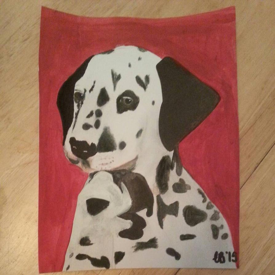 Dalmatian drawing by koolandkrazy