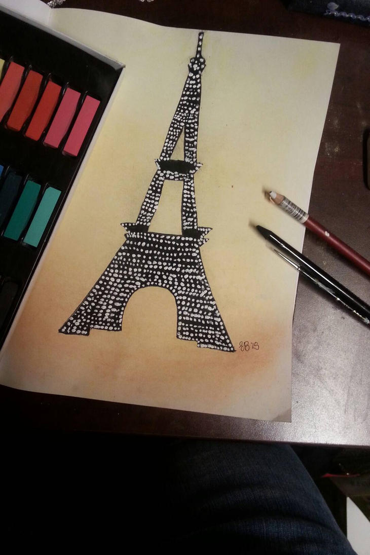 Eiffel Tower by koolandkrazy
