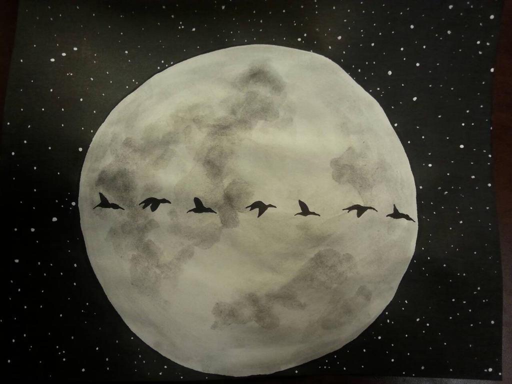 Full Moon by koolandkrazy