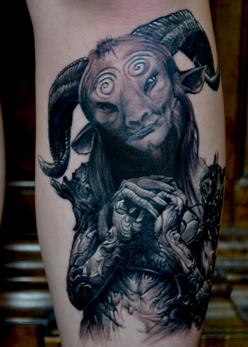 faun tattoo by jamiemhenderson on deviantart