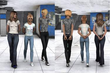 R-World:  High School Girls by DonKevinMartin