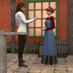 R-World Historical Scene - Tavern Owner by DonKevinMartin