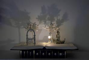 Charon - Door to a World of Dreams Book Sculpture