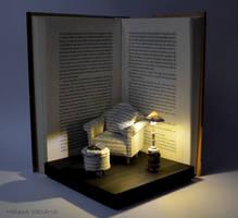 Diorama - Great Comfort - Book Art