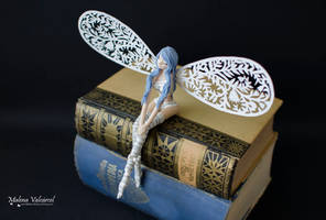 Miniature Fairy - Paper Art by MalenaValcarcel