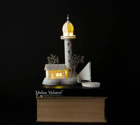 Lighthouse Paper Art