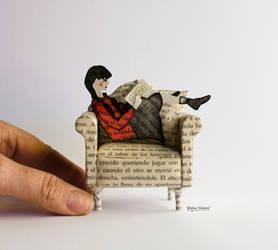 Reading - Paper Art