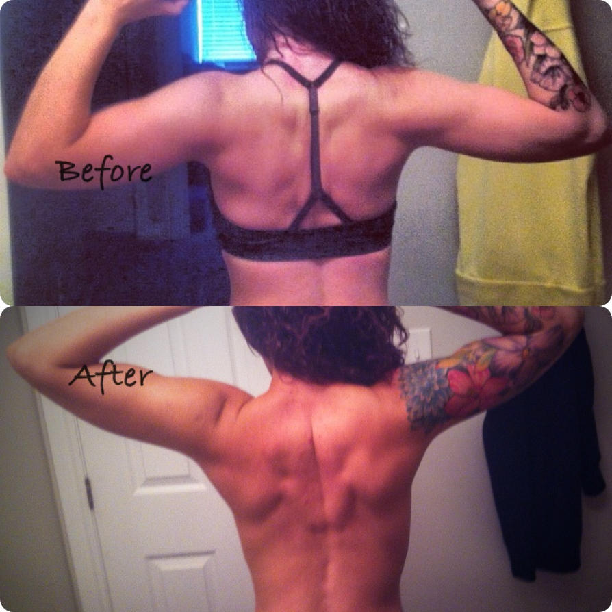 A little before and after BACK by MissAshly