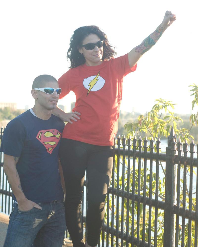 Superhero engagement  by MissAshly