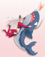 Shark Aldra by sunimu
