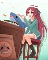 Shark Kyouko by sunimu