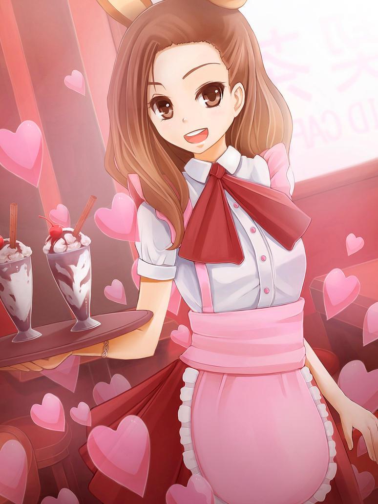 Maid Cafe by sunimu