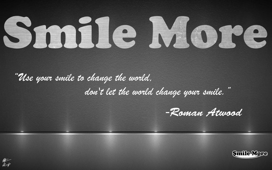 Smile More Background By DoctorSchwartz