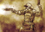 Imperial Stormgunner in Action