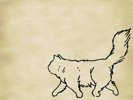 Cat Wallpaper by zacdac