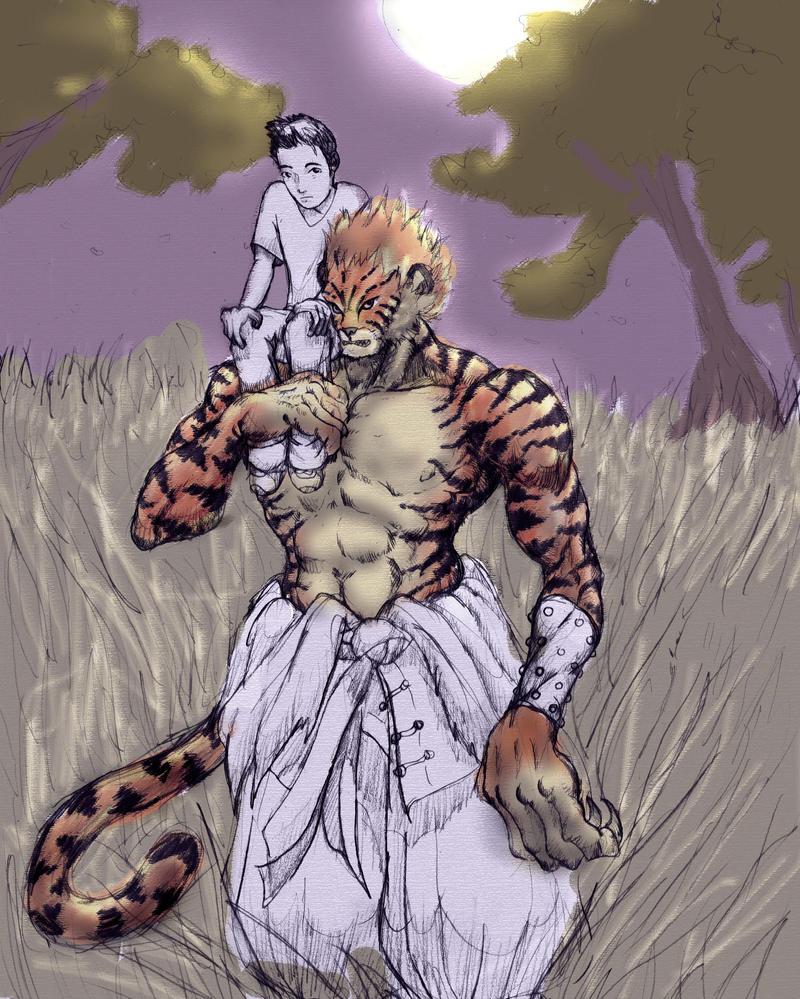 Werewolf vs weretiger - photo#17