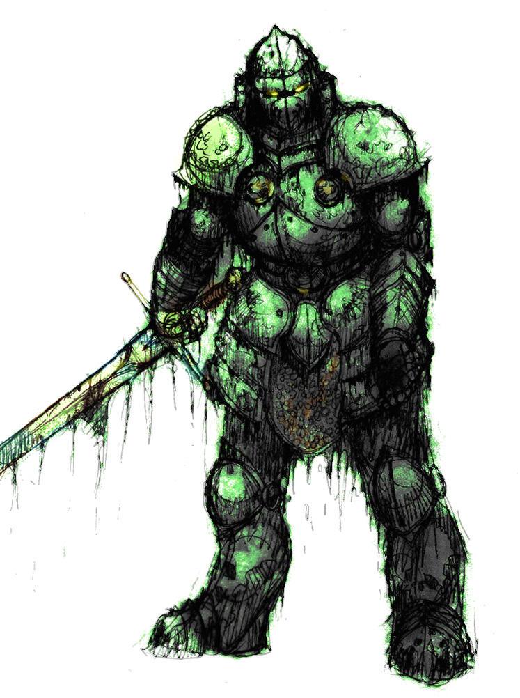 The Bog Knight by zacdac