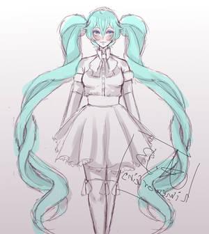 ..:WIP:.. Dress Up Miku