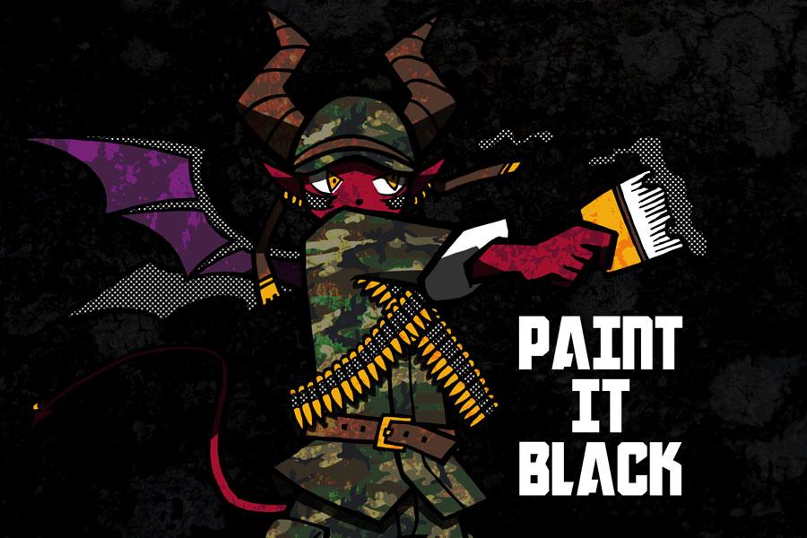 Paint It Black by murmur37