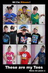 These Are My Tees!  :D by kitsune-katastrophe
