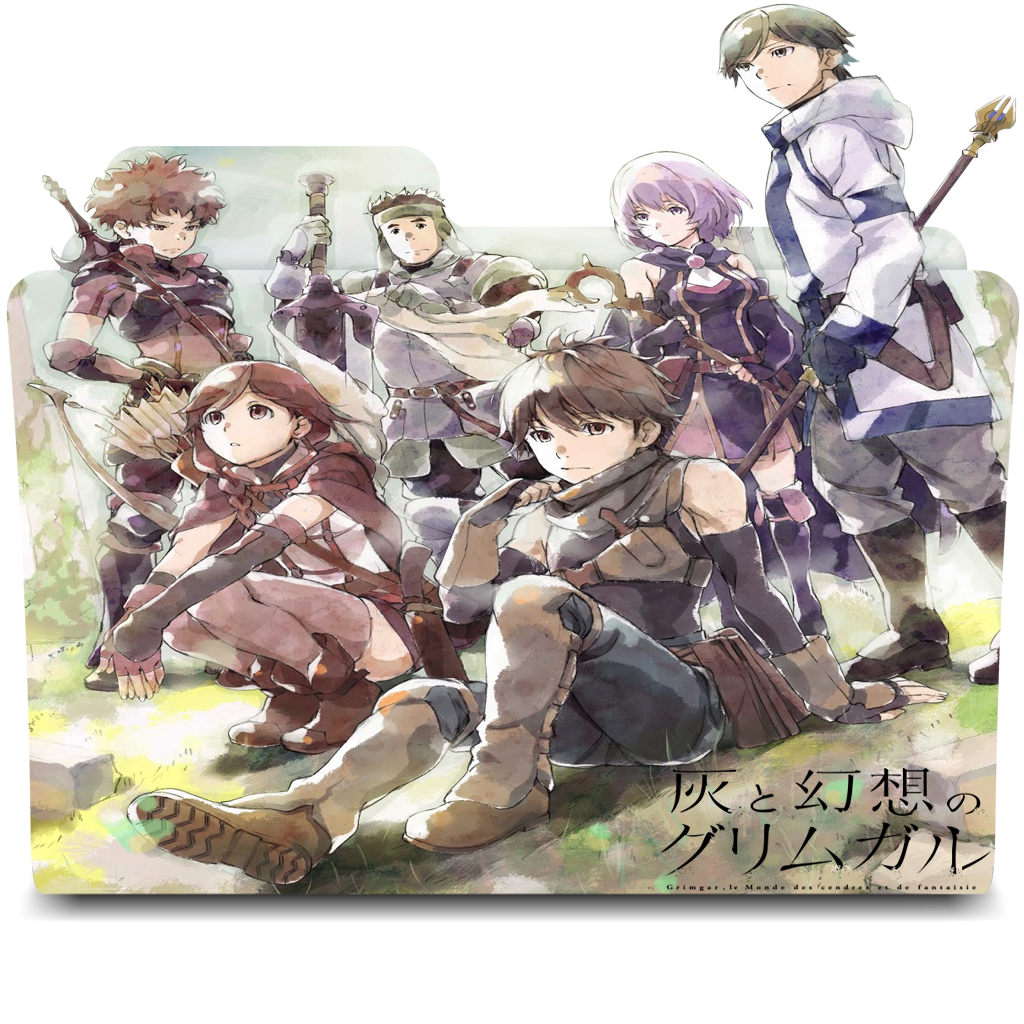 Hai To Gensou No Grimgar Folder Icon By Kikydream On Deviantart