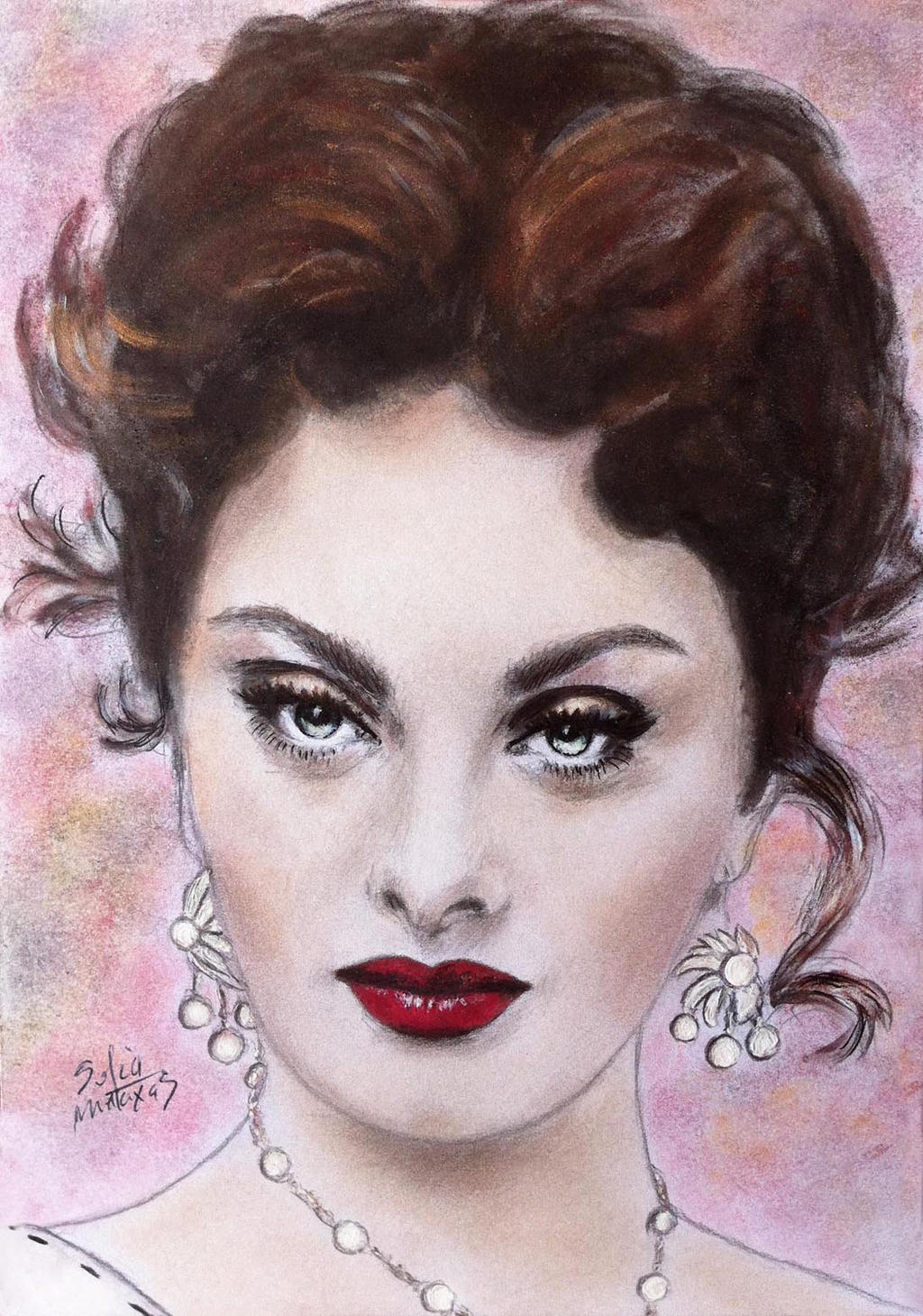 Makeup Drawing: Makeup Drawing By SofiaMetaxas On DeviantArt