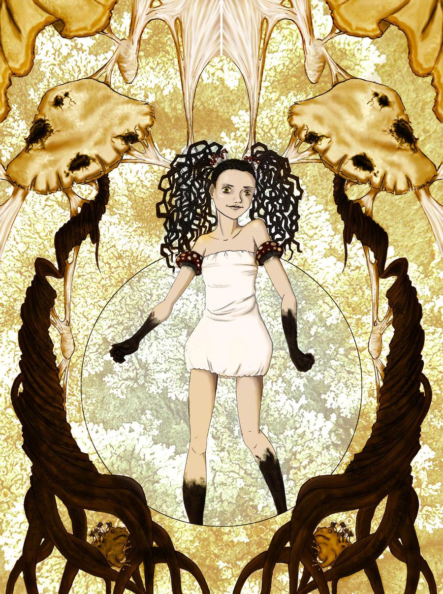 Hermia-The Swamp Demon by amurderofcrowws