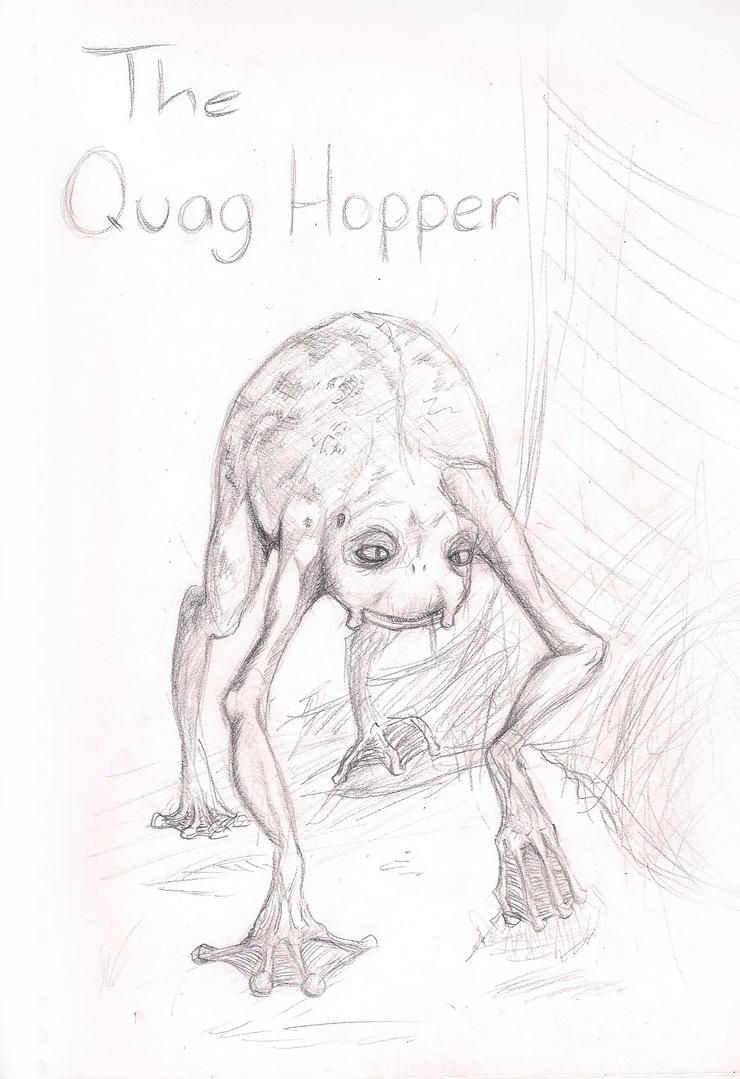 The Quag Hopper by amurderofcrowws