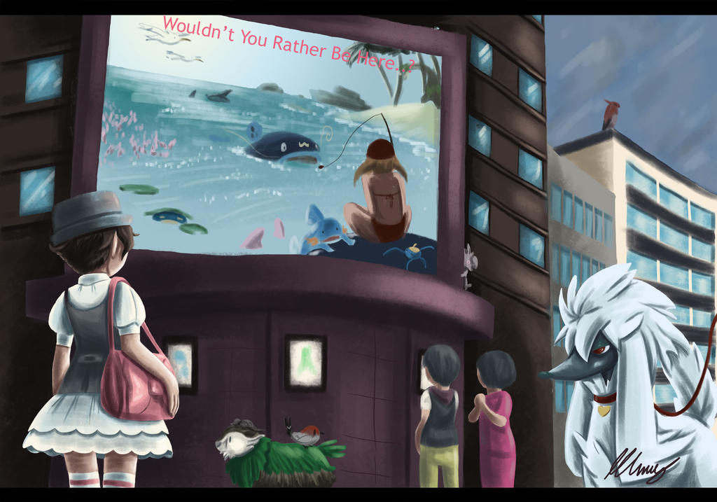 Wouldn't You Rather Be In Hoenn..? by TheMushroomancer