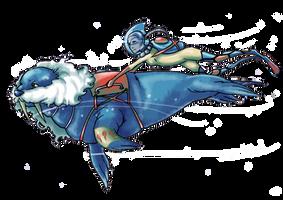 Pokemon Water Race Collab: Walrein 999 by TheMushroomancer