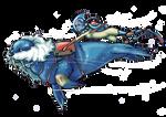 Pokemon Water Race Collab: Walrein 999