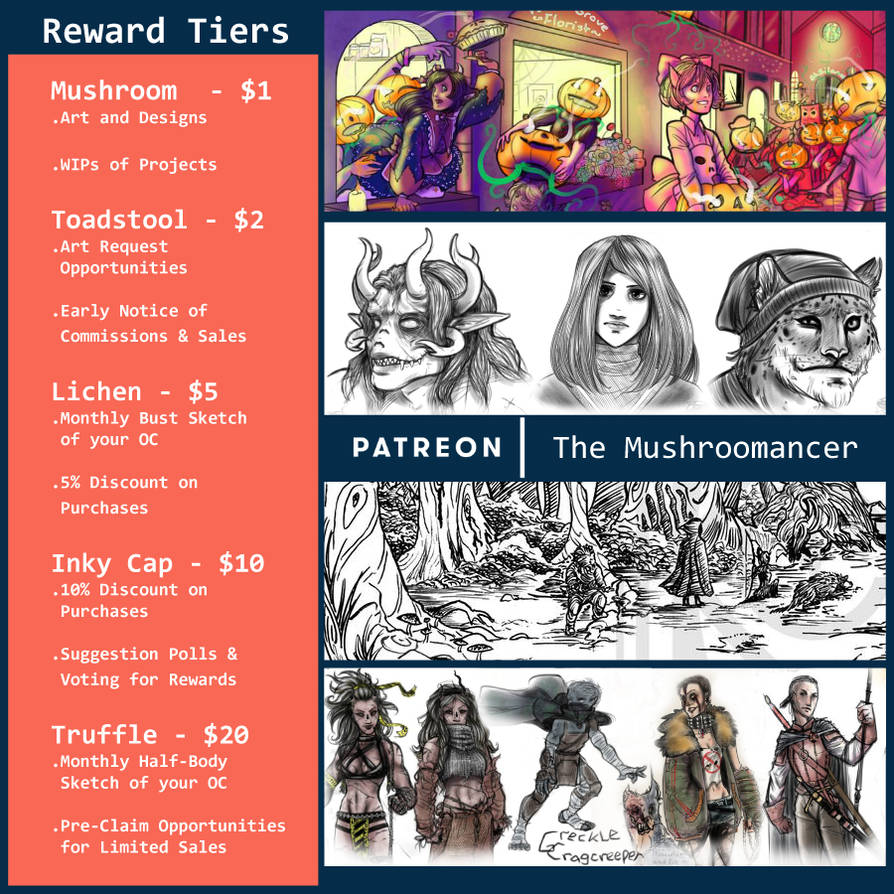 PATREON: Support the Mushroomancer
