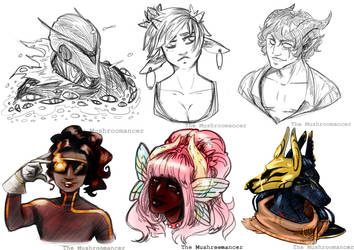 COMM: Bust Sketches - MAY 2021