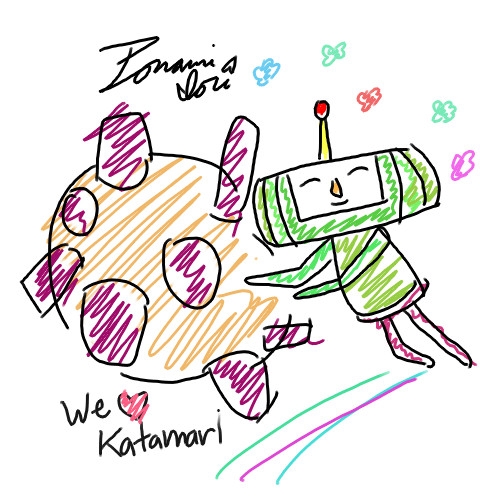 http://fc05.deviantart.net/fs71/f/2010/107/e/3/We_LOVE_Katamari_by_Urufumi.jpg