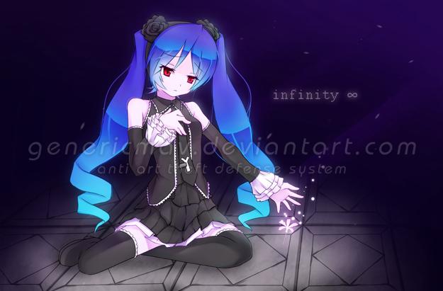 Hatsune Miku- Infinity by GenericMav