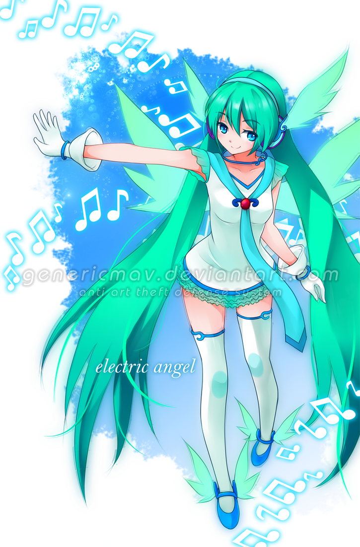 Hatsune Miku- Angel by GenericMav
