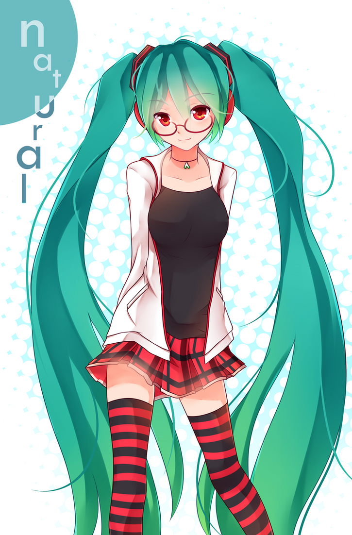 Hatsune Miku- Natural by GenericMav